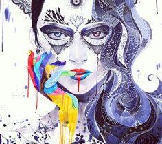 A mulher é a personificação da arte. #DiadaMulher