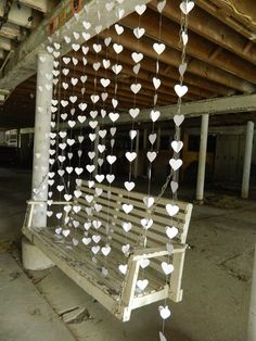 Oh wow this is beautiful Wedding Garland/Paper Heart Garlands/ Curtain Backdrop/Wedding Reception Decoration/Photo Prop/Ceremony Backdrop/ Paper Garland. Curtain Backdrop Wedding, Wedding Reception Backdrop, Diy Backdrop, Garland Wedding, Wedding Table, Bridal Table, Reception Food, Wedding Backdrops, Wedding Receptions