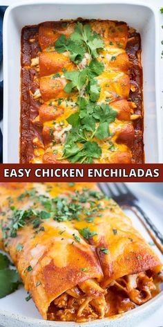 Enchiladas Healthy, Mexican Enchiladas, Homemade Enchiladas Chicken, Recipe For Chicken Enchiladas, Chicken Recipes For Lunch, Bean And Cheese Enchiladas, Rotisserie Chicken Enchiladas, Shredded Beef Enchiladas, How To Make Enchiladas