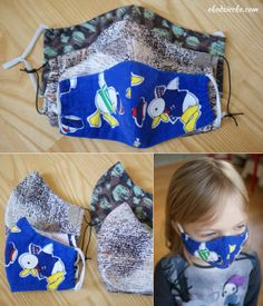 Maseczka ochronna DIY z instrukcją szycia krok po kroku oraz z szablonami do pobrania. DIY protective mask with step-by-step sewing instructions and downloadable templates. Diy Projects To Try, Sewing Projects, Crafts For Kids, Bags, Bricolage, Crafts For Children, Handbags, Totes, Easy Kids Crafts