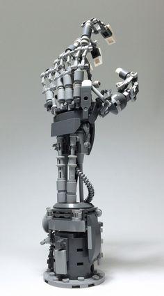 LEGO Mech Hand-15 by ToyForce 120 http://flic.kr/p/M46Kcu