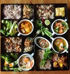 Thai Food Bento