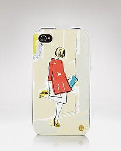 kate spade new york iPhone Case - Garance Girl | Bloomingdale's