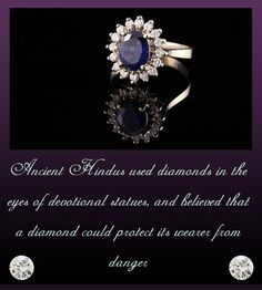 Did you know that your precious diamond stones are also treasure troves of strength, resilience and fortitude for they are ingrained with the phenomenal power to exterminate every trace of evil energy hovering around the wearer.  #6thPost #TheDiamondBookOfFacts #LuminescenceOutside #EnchantmentWithin #KapishJewels