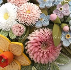 Новости Quilling Flowers, Paper Quilling, Paper Flowers, Paper Plants, Quilling Tutorial, Mexican Style, Daffodils, Paper Art, Origami