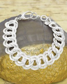 You will love the Chicest Link Bracelet by Silpada Designs! This is a wardrobe 'essential'! Only $209, but you can get yours for FREE! Go to www.mysilpada.com/christine.mckee1 to find out how! #Silpada #Sterling-Silver #Must-have #Bracelet