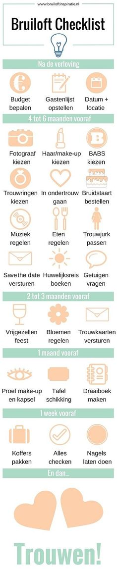 Bruiloft checklist: 25 onmisbare punten op de planning – Wedding For My Life Before Wedding, Wedding Prep, Wedding Goals, Budget Wedding, Wedding Tips, Dream Wedding, Wedding Details, Wedding Decor, Elegant Wedding
