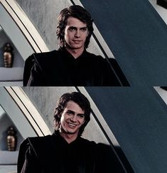 Anakin Skywalker. Oh that sexy smile! ;)