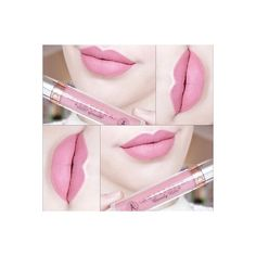 Anastasia Beverly Hills Liquid Lipstick- Pastel Pink ❤ liked on Polyvore featuring beauty products, makeup, lip makeup, lipstick and anastasia beverly hills