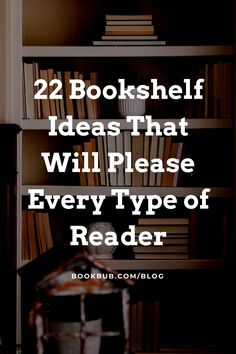 Searching for bookshelf ideas for your home library or reading nook? Start here. #books #bookshelf #bookshelves Bookshelf Ideas, Bookshelf Styling, Wall Bookshelves, Reading Nook Kids, Nook Ideas, Book Corners, Home Libraries, Book Storage, Book Nooks