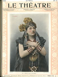 Le Theatre - L. Breval as Salammbo