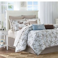 Harbor House Island Grove 4-Piece Comforter Set, Blue, California King by Harbor House, http://www.amazon.com/dp/B005MN23F0/ref=cm_sw_r_pi_dp_k42vqb17Y8GKQ