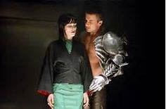 Blade Trinity - I made two green dresses (stretch silk charmeuse) for Parker.