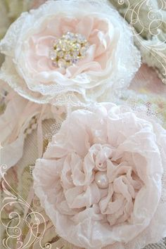 shabby chic flower:
