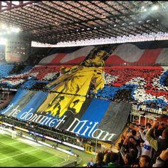 Coreografia Inter-Milan 2012