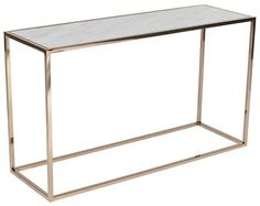 Globe West Elle cube marble console