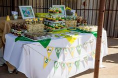 John Deere Farm Party via Karas Party Ideas | KarasPartyIdeas.com