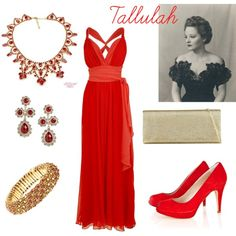Tallulah Bankhead by connie-collier-cain on Polyvore