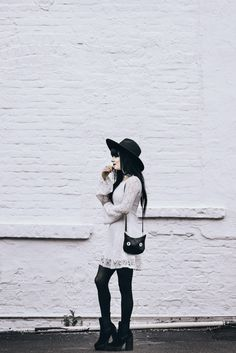 The White Dress by Jaglever #fashion #blogger #outfit