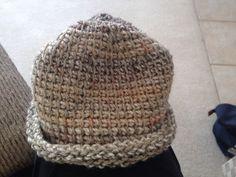Tunisian Simple Stitch boy's hat. ~ Leslie Molengraaf