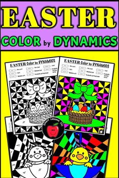 Distance Learning Easter Music Color by Code Worksheet Note Rhythm Dynamic Tempo Music Sub Plans, Music Lesson Plans, Music Lessons, Music Theory For Beginners, Basic Music Theory, Music Activities For Kids, Music For Kids, Fun Music, Music Games