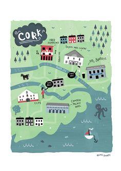 Map of Cork - Aoife Dooley