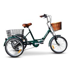 Jorvik Aluminium Folding Tricycle for sale from Jorvik the online UK Tricycle experts, shop online today! Tricycle Bike, Adult Tricycle, Trike Bicycle, Three Wheel Bicycle, Electric Tricycle, 3rd Wheel, Weird Cars, Biker Chick, Adulting