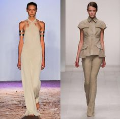 Desert Queen: channelling Africa for spring 2013