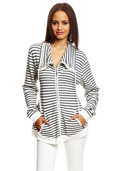 HARD TAIL Long Sleeve Zip Stripe Jacket $120, down form $290. js