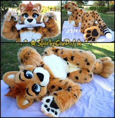 Oooo Cheetah ^^ - by SparkyCanDo
