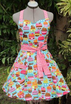 Cute Vintage Style Aprons | Hawaii Kawaii Blog