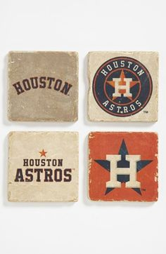 'Houston Astros' Marble Coasters (Set of 4) available at #Nordstrom