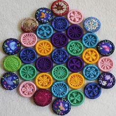 beaker button, fibre craft, yarn shop, wool shop, dorset buttons,craft