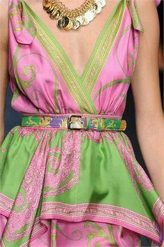 D Collezioni Primavera-Estate 2012 / Milano pink and acid green, so summer! Pink Love, Pretty In Pink, Pink And Green, Hot Pink, Everything Pink, Green Fashion, Color Combinations, Fashion Show, Milan Fashion