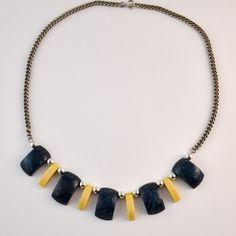 Vintage Kette Jacob Bengel 1930er Jahre Messing, Bengel, Tassel Necklace, Vintage, Jewelry, Products, Fashion, Necklaces, Moda