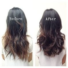 Ask for layers.   17 Genius Ways To Make Thin Hair Look Seriously Thick