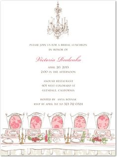 my bridal shower invites