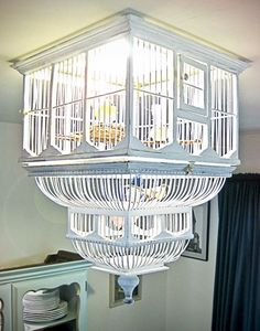 not usually my style, but for a mom of a kid nicknamed Birdie, this could be kinda perfect in a mod white room.