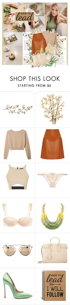 """While I'll be sitting here with a song I wrote... sing, love could change the world in a moment but what do I know?"" by winfreda ❤ liked on Polyvore featuring Givenchy, Topshop, Agent Provocateur, Christian Dior and Yves Saint Laurent"