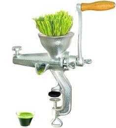 Manual wheatgrass press.
