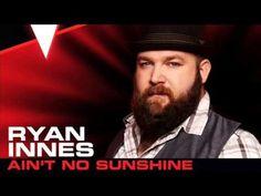 Ryan Innes - Ain't No Sunshine - Studio Version - The Voice 2013 Sunshine Studio, Ain't No Sunshine, The Voice Videos, Music Videos, Youtube, Fictional Characters, Musica, Fantasy Characters, Youtubers