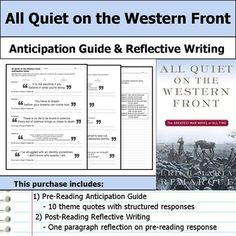 essays on all quiet on the western front found poetry english Template  Editor Brian Murdoch University Pinterest