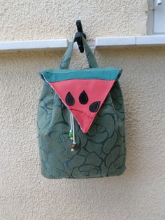 The watermelon backpack by MariasHappyThoughts on Etsy
