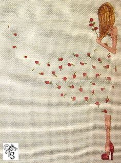 Gallery.ru / Платье из роз - Отшивы 3 - Vorozheya