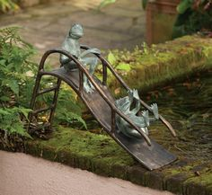 Slidin' Frogs | New Products | Charleston Gardens® - Home and Garden Collection Classic outdoor and garden furnishings, urns & planters and garden-related gifts