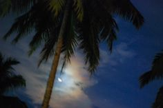 Greg - AdventuresofaGoodMan.com posted a photo:  Havelock Island  Andaman Islands, India  As if relaxing on a hammock and staring up at the night sky wasn't beautiful enough ... LOOK, it's a moonbow!  def: moonbows or lunar rainbows are rare natural atmospheric phenomena that occur when the Moon's light is reflected and refracted off water droplets in the air.  ------------------------------------------------------  Let's Travel the World!  I've spent the past decade exploring our world; and…