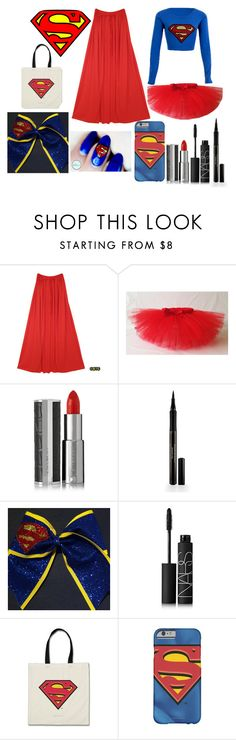 """""""Superman Costume"""" by sofi-the-first1912 on Polyvore featuring Givenchy, Elizabeth Arden and NARS Cosmetics"""