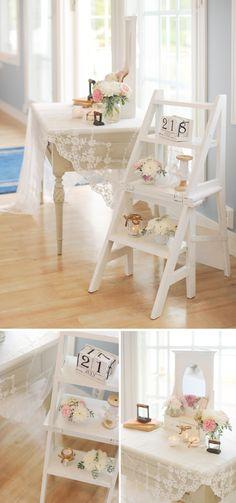 Hey Look: A ROMANTIC VINTAGE WEDDING: JENNI & CALLE...cute ideas