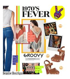 """""""1970's FEVER"""" by seaside-boutique ❤ liked on Polyvore featuring Vince Camuto, women's clothing, women's fashion, women, female, woman, misses and juniors"""