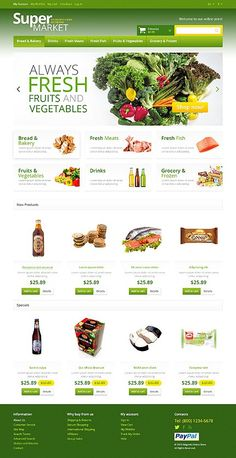 Vegetable Bread, Vegetable Shop, Product Catalog Template, Product Catalogue, Supermarket App, Template Web, Templates, Newcastle Brown Ale, Food Catalog